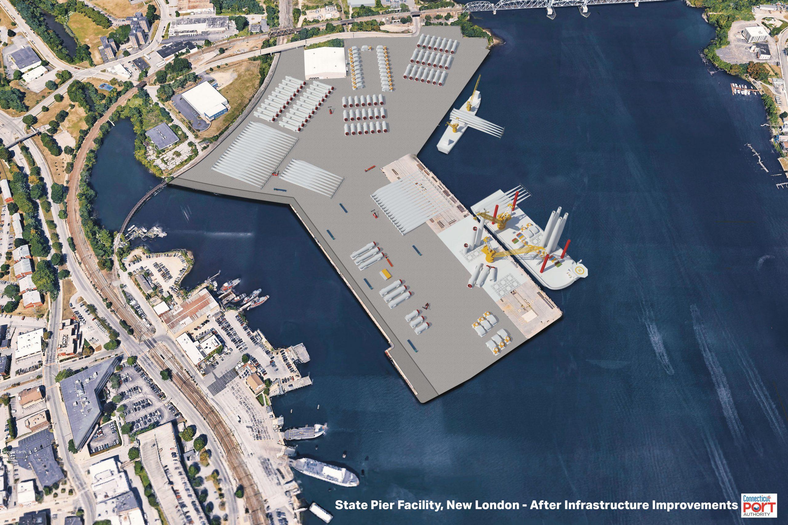 State Pier Rendering